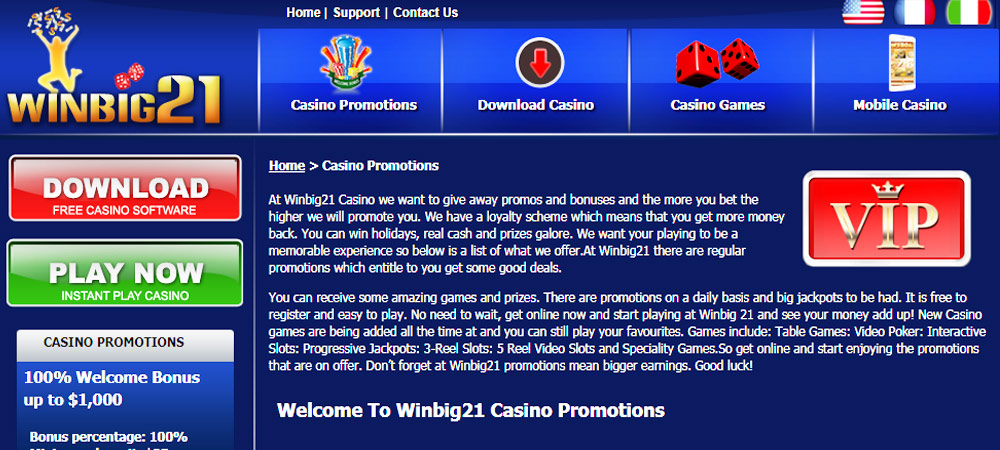 Casino online spin
